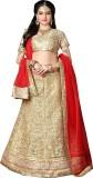 Saree Exotica Satin Embroidered Semi-sti...