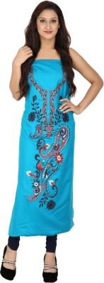 Indo Essence Wool Woven Kurti Fabric