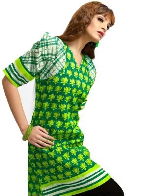 Karishma Suits Cotton Floral Print Dress/Top Material