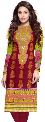 FFC UNSTITCHED Cotton Printed Kurta & Churidar Material
