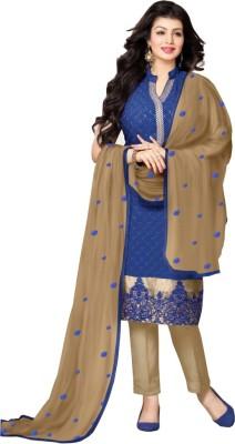 Eleven Creation Georgette Embroidered Salwar Suit Dupatta Material