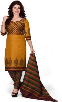 Krishna Fab Cotton Printed Salwar Suit Dupatta Material