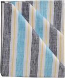 British Terminal Cotton Linen Blend Stri...