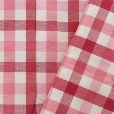 Wel-Come Cotton Mart Cotton Polyester Blend Checkered Shirt Fabric