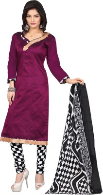 Manthan Silk Solid Salwar Suit Dupatta Material