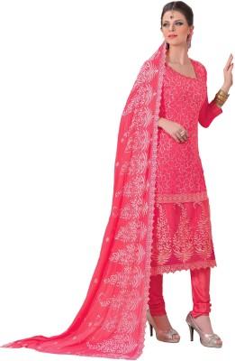 Krizel Trendz Chiffon Embroidered Salwar Suit Dupatta Material