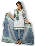 Fashion Valley Cotton Self Design Salwar...