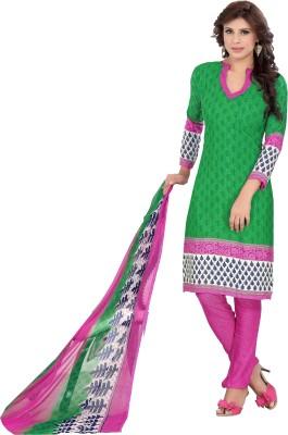 Khoobee Crepe Printed Salwar Suit Dupatta Material