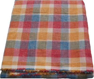 Amin Cotton Polyester Blend Checkered Shirt Fabric