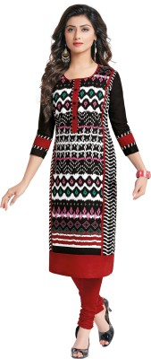 Beautara Cotton Printed Kurti Fabric