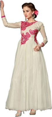 Arya Garment Net Embroidered Dress/Top Material