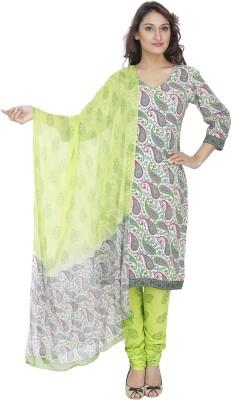 PinkShink Cotton Printed Salwar Suit Dupatta Material
