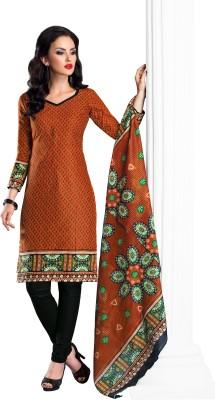 Design Villa Cotton Printed Salwar Suit Dupatta Material