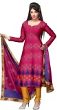 Glitters Chanderi Printed Salwar Suit Du...