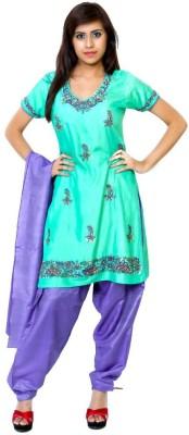 naman Cotton Silk Blend Solid Salwar Suit Dupatta Material