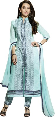 Khushali Cotton Self Design, Embroidered Salwar Suit Dupatta Material(Un-stitched)