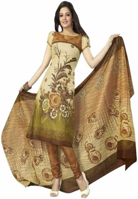 Chatri Fashions Cotton Printed Salwar Suit Dupatta Material