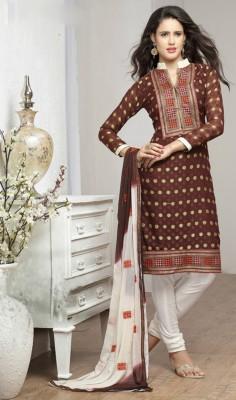 Saree Exotica Georgette Printed Salwar Suit Dupatta Material