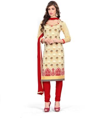 AARA TRENDZ Jacquard Self Design Salwar Suit Dupatta Material