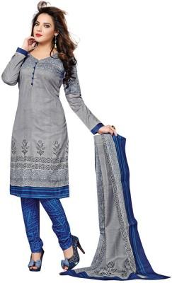 Dertaste Cotton Floral Print Salwar Suit Material
