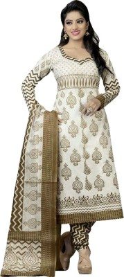 MS Fashion Cotton Printed Salwar Suit Dupatta Material