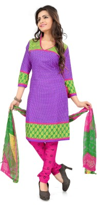 Kurtiz Cotton Printed Salwar Suit Dupatta Material