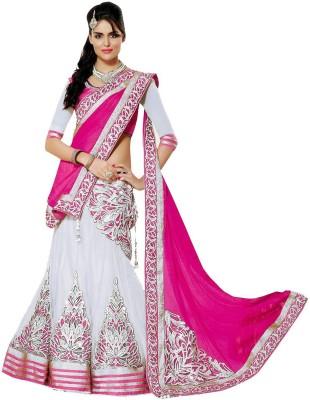 MF Retail Net Embroidered Lehenga Choli Material