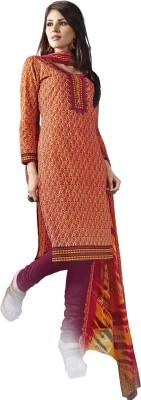 Afreen Cotton, Chiffon Printed Salwar Suit Dupatta Material