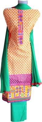 Manal boutique Cotton Self Design Semi-stitched Salwar Suit Dupatta Material