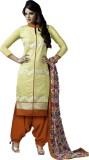 Typify Chanderi Embroidered Salwar Suit ...