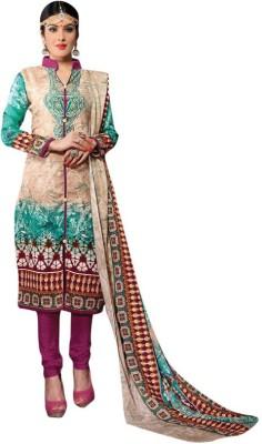 Trendz Apparels Pashmina Embroidered Salwar Suit Dupatta Material
