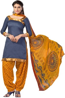 Price Bet Cotton Embroidered Salwar Suit Dupatta Material