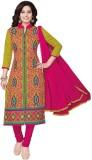 Salwar Studio Cotton Floral Print, Chevr...