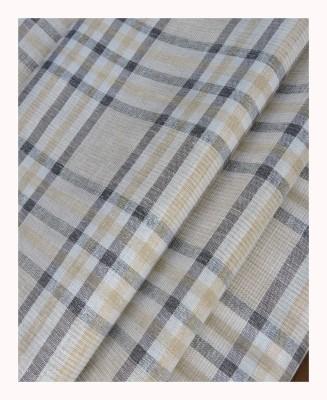 Jhon Diego Linen, Cotton Checkered Shirt Fabric