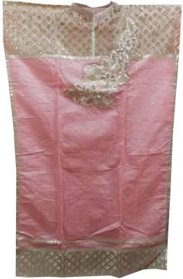FS Silk Embroidered Semi-stitched Salwar Suit Dupatta Material