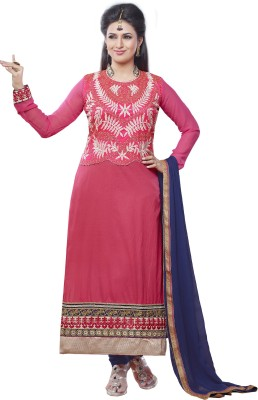 Vistara Lifestyle Cotton Embroidered Salwar Suit Dupatta Material