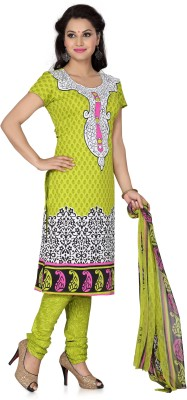 Aanyaa Crepe Solid Salwar Suit Dupatta Material