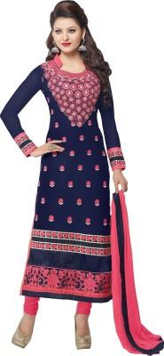 KrishnaFashion321 Cotton Embroidered Salwar Suit Dupatta Material