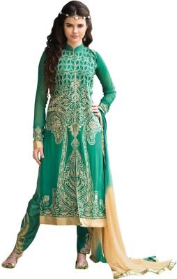 Saara Georgette Embroidered Salwar Suit Dupatta Material