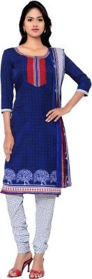 Hitansh Fashion Crepe Printed Salwar Suit Dupatta Material