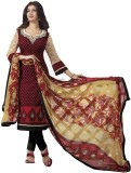 Styliner Cotton Self Design Salwar Suit ...