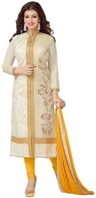 Hardik Chanderi Embroidered Salwar Suit Dupatta Material