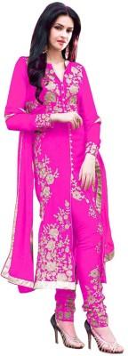 Miss Charming Georgette Self Design Dress/Top Material