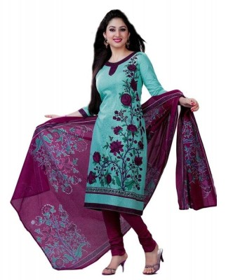 Fashion Valley Cotton Printed Salwar Sui...