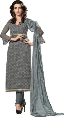 Varanga Georgette Self Design Semi-stitched Salwar Suit Dupatta Material