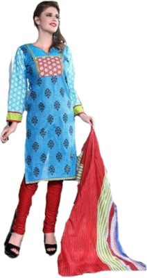 jay ganesh Cotton Printed Salwar Suit Material