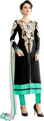 Surat Dream Georgette Embroidered Salwar Suit Dupatta Material