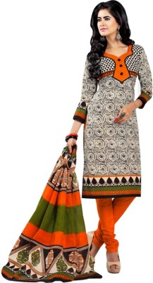Desi By Design Cotton Printed Dress/Top Material