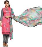 Pakiza Design Cotton Embroidered Semi-st...