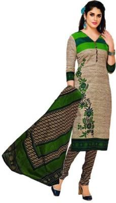 AzyFabrics Georgette Printed Salwar Suit Dupatta Material